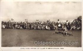 spo050027 - Camel Races Fair Day Racing Postcard Postcards