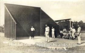 spo050032 - Hand Ball Court - Cottage Farm - Ware, Mo. USA, Laurella Sstudio, De Soto, Mo, USA Misc. Sports Postcard Postcards