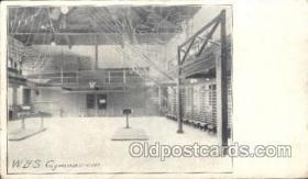 spo050054 - W.B.S. Gymnasium Misc. Sports Postcard Postcards