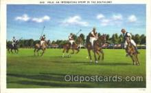 spo050055 - Polo, The Southland Misc. Sports Postcard Postcards