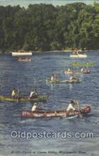 spo050060 - Canoe Derby, Minneapolis, USA Misc. Sports Postcard Postcards