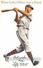 spo050064 - Leafty O'Doul, San Francisco, USA Misc. Sports Postcard Postcards