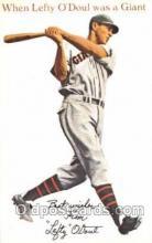 spo050065 - Leafty O'Doul, San Francisco, USA Misc. Sports Postcard Postcards