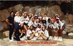 1989 Arizona Volleyball, University of Arizona