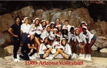 1989 Arizona Volleyball, University of Arizona