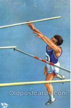 spo051010 - Olympic High Jump Postcard Postcards