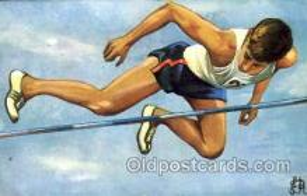 spo051011 - Olympic High Jump Postcard Postcards