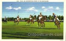 spo051013 - Polo in Southland, Postcard Postcards