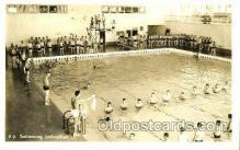 spo051014 - Swimming Instruction real photo, Postcard Postcards