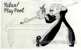spo051018 - Billiards, Pool, Postcard Postcards