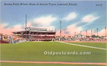 Henley Field, Winter Home of Detroit Tigers