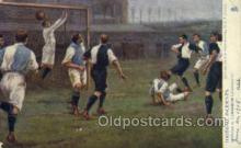 spo060012 - Soccer, Sports, Old Vintage Antique Postcard Post Cards