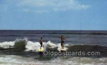 spo060017 - Surfing, Sports, Old Vintage Antique Postcard Post Cards