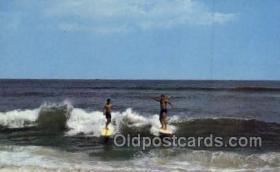 spo060017 - Surfing, Sports, Old Vintage Antique Postcard Post Cards