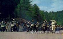 spo060020 - Championship 100 mile motorcycle race, Laconia, NH, USA Motorcycle Race, Sports, Old Vintage Antique Postcard Post Cards
