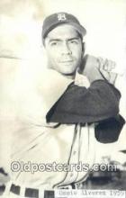 spo070002 - Ossie Alverez Baseball Postcard Detroit Tigers Base Ball Postcard Post Card