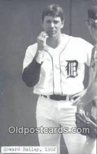 spo070057 - Howard Bailey Baseball Postcard Detroit Tigers Base Ball Postcard Post Card