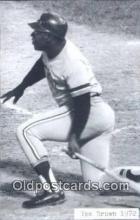 spo070060 - Ike Brown Baseball Postcard Detroit Tigers Base Ball Postcard Post Card