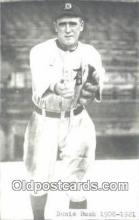 spo070068 - Donnie Bush Baseball Postcard Detroit Tigers Base Ball Postcard Post Card