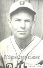 spo070073 - Hubert Bates Baseball Postcard Detroit Tigers Base Ball Postcard Post Card