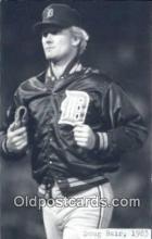 spo070074 - Doug Bair Baseball Postcard Detroit Tigers Base Ball Postcard Post Card