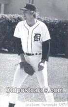 spo070079 - Sheldon Burnside Baseball Postcard Detroit Tigers Base Ball Postcard Post Card
