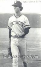spo070086 - Mike Chris Baseball Non Postcard Detroit Tigers Base Ball Postcard Post Card