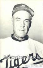 spo070089 - Phil Cavaretta Baseball Postcard Detroit Tigers Base Ball Postcard Post Card