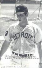 spo070091 - Joe Cernick Baseball Postcard Detroit Tigers Base Ball Postcard Post Card
