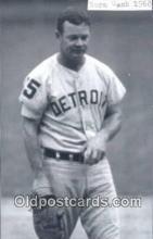 spo070093 - Norm Cash Baseball Postcard Detroit Tigers Base Ball Postcard Post Card