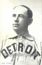spo070108 - Jim Casey Baseball Postcard Detroit Tigers Base Ball Postcard Post Card