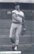 spo070117 - Marty Castillo Baseball Postcard Detroit Tigers Base Ball Postcard Post Card