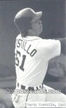 spo070118 - Marty Castillo Baseball Non Postcard Detroit Tigers Base Ball Postcard Post Card