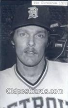 spo070124 - Tim Corcoran Baseball Postcard Detroit Tigers Base Ball Postcard Post Card