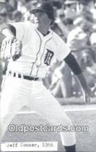 spo070125 - Jeff Conner Baseball Postcard Detroit Tigers Base Ball Postcard Post Card