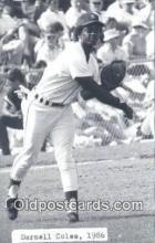 spo070128 - Darnell Coles Baseball Postcard Detroit Tigers Base Ball Postcard Post Card