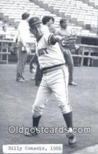 spo070130 - Billy Consolo Baseball Postcard Detroit Tigers Base Ball Postcard Post Card
