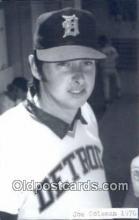 spo070132 - Joe Coleman Baseball Postcard Detroit Tigers Base Ball Postcard Post Card