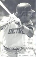 spo070141 - Al Cowens Baseball Non Postcard Detroit Tigers Base Ball Postcard Post Card