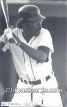 spo070142 - Al Cowens Baseball Postcard Detroit Tigers Base Ball Postcard Post Card