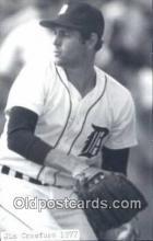 spo070146 - Jim Crawford Baseball Postcard Detroit Tigers Base Ball Postcard Post Card