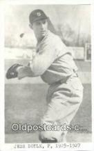 spo070158 - Jess Doyle Baseball Postcard Detroit Tigers Base Ball Postcard Post Card