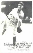spo070164 - George Dauss Baseball Postcard Detroit Tigers Base Ball Postcard Post Card