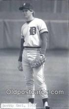spo070175 - Scotty Earl Baseball Postcard Detroit Tigers Base Ball Postcard Post Card