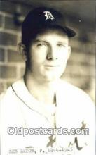 spo070183 - Zeb Eaton Baseball Postcard Detroit Tigers Base Ball Postcard Post Card