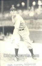 spo070193 - Carl Fischer Baseball Postcard Detroit Tigers Base Ball Postcard Post Card
