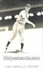 spo070231 - Floyd Giebell Base Ball Postcard Detroit Tigers Baseball Postcard Post Card