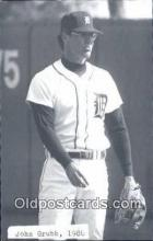 spo070248 - John Grubb Base Ball Postcard Detroit Tigers Baseball Postcard Post Card