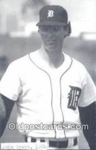 spo070250 - John Grubb Base Ball Postcard Detroit Tigers Baseball Postcard Post Card