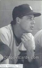 spo070270 - Dave Gumpert Baseball Non Postcard Detroit Tigers Base Ball Postcard Post Card
